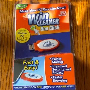 Other - Win cleaner one click new